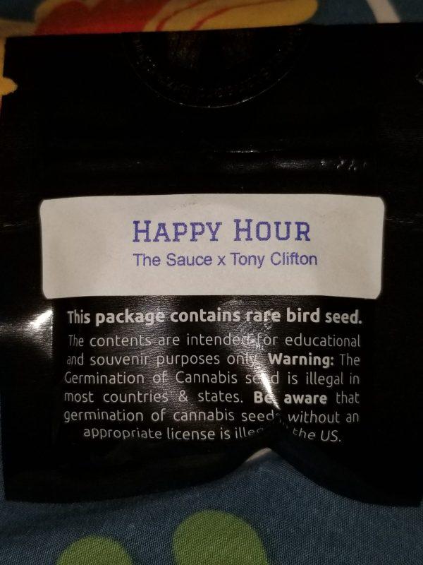 Happy hour strain