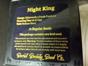 Night king strain