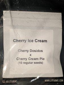 Cherry ice cream strain