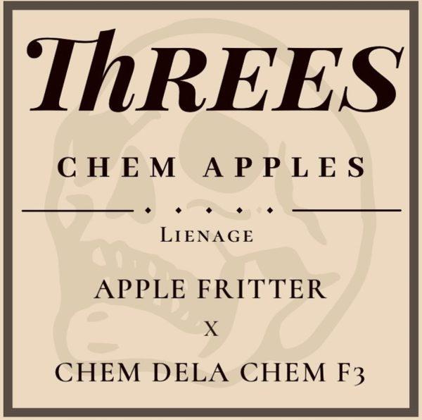 Threes Chem Apples Strain Three Genetics Reserve