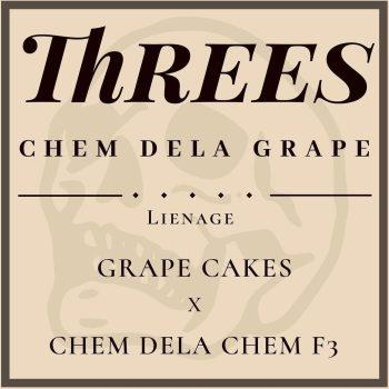 Threes Chem Dela Grape Strain Three Genetics Reserve