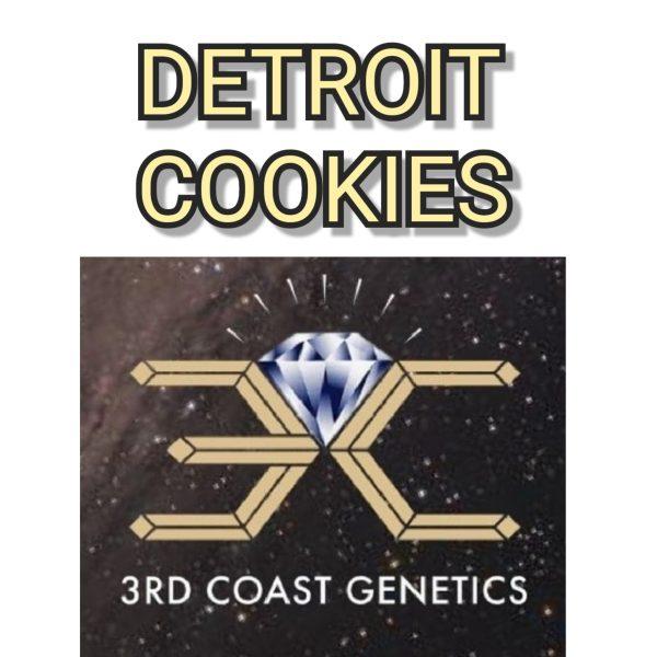 DETROIT COOKIES - 3RD COAST GENETICS