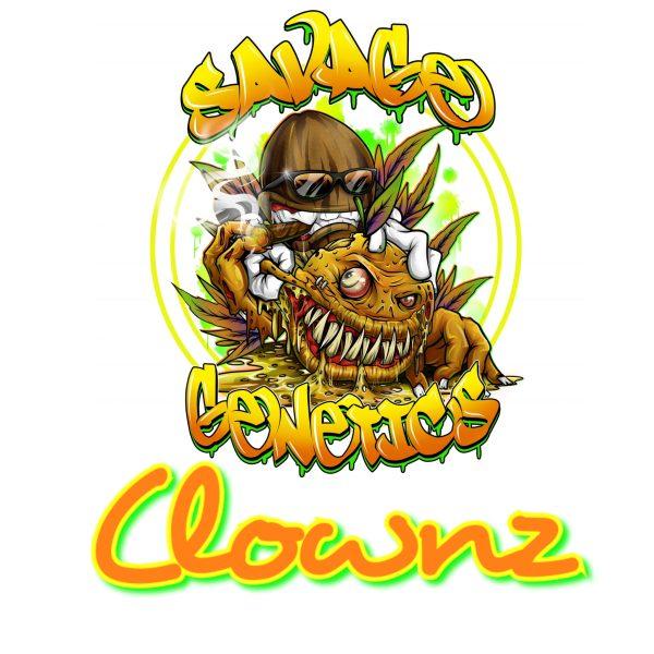 Clownz Savage genetics
